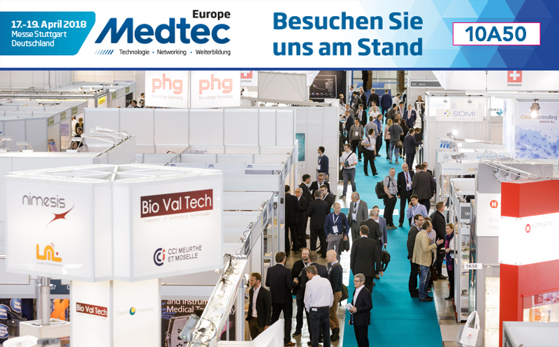 brainLight ist Partner der Medtec Europe 2018