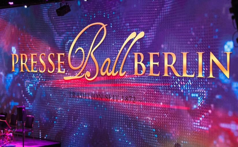 Presseball Berlin mit brainLight:  Entspannter Networking-Unterhaltungs-Mix